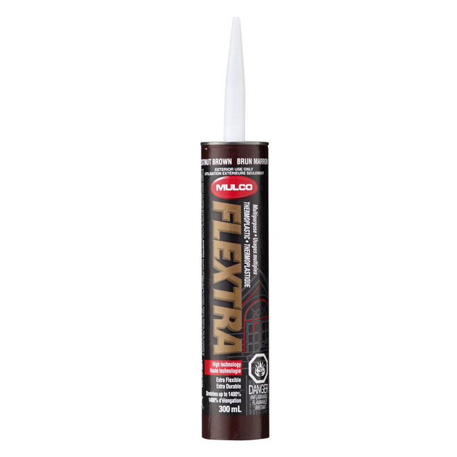 Exterior Thermoplastic Sealant 300ml - Chestnut Brown