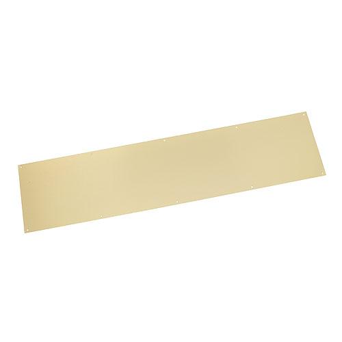 Plaque de bas de porte fini laiton poli 34 x 8 rona - Plaque de laiton ...