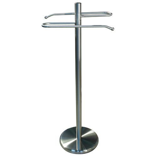 Pedestal towel holder