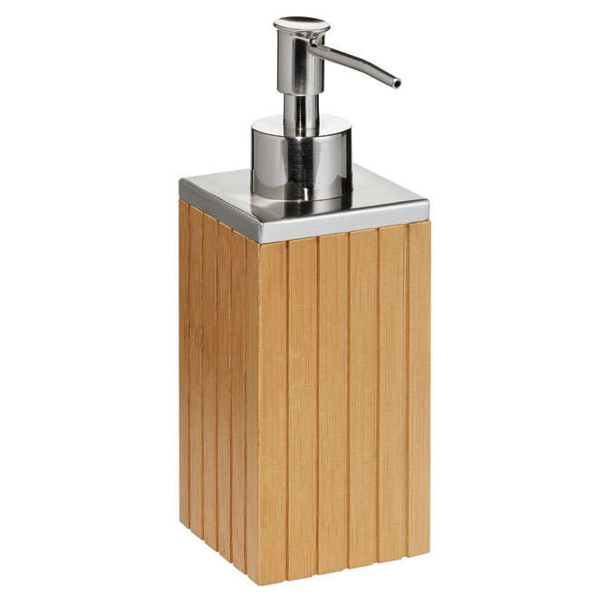 bamboo soap dispenser rona. Black Bedroom Furniture Sets. Home Design Ideas