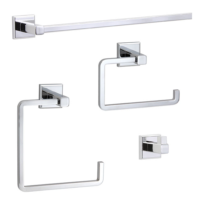 Ensemble de salle de bain 4 mcx, Ultra, chrome