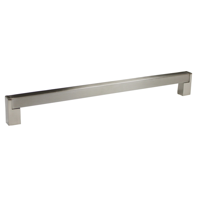 """Contemporary"" Stainless Steel and Metal Handle Pull"