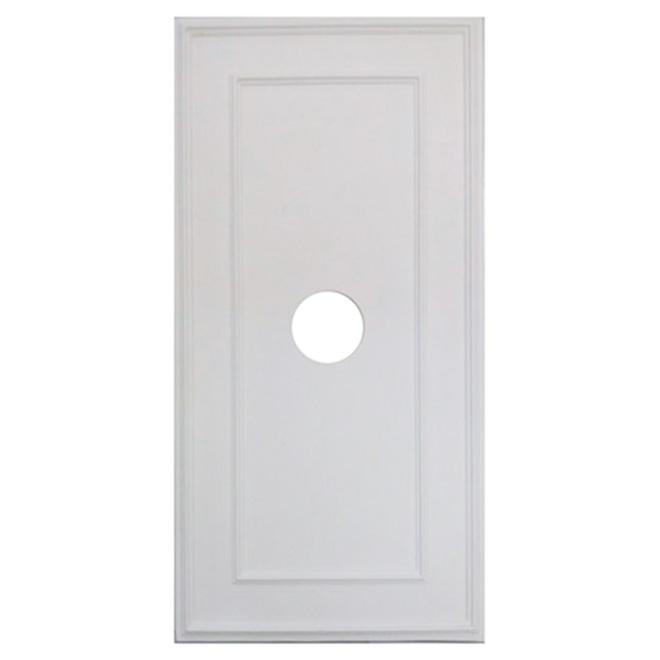 polyurethane rectangular ceiling medallion rona. Black Bedroom Furniture Sets. Home Design Ideas