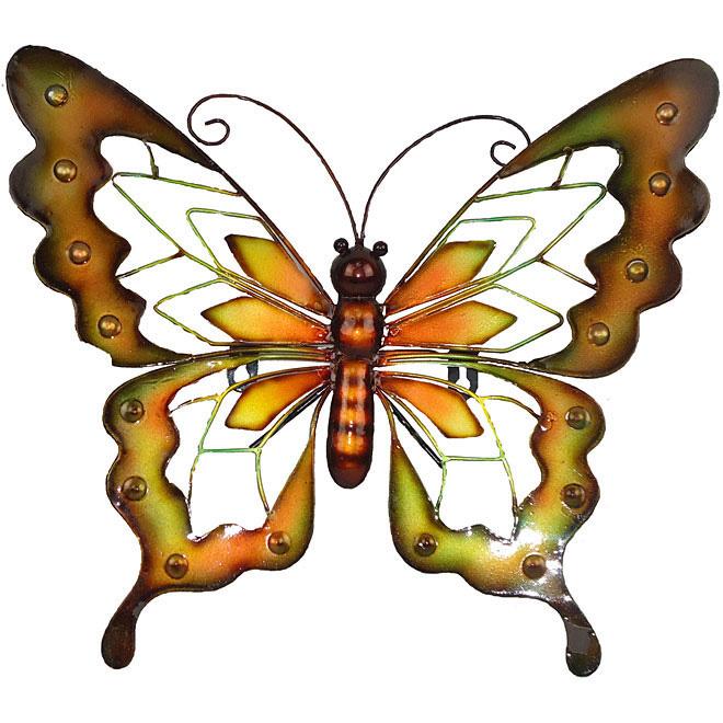 d coration murale papillon rona. Black Bedroom Furniture Sets. Home Design Ideas