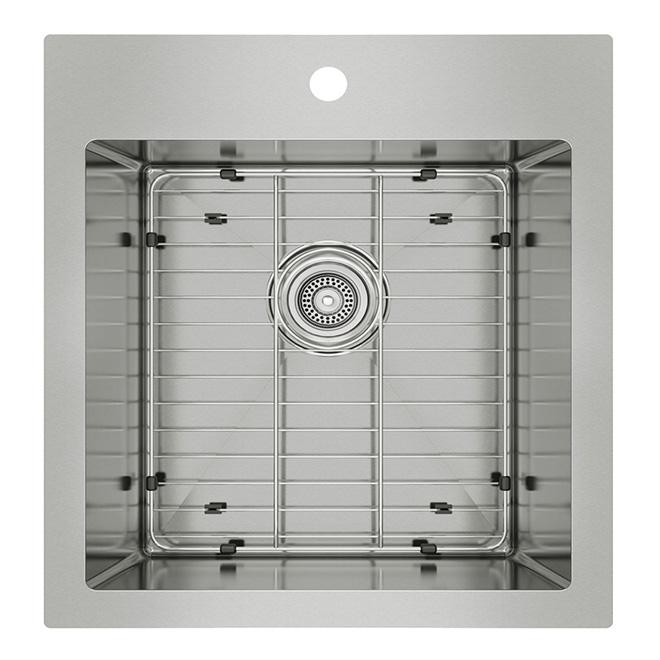 odyssey stainless steel single kitchen sink - Rona Kitchen Sink