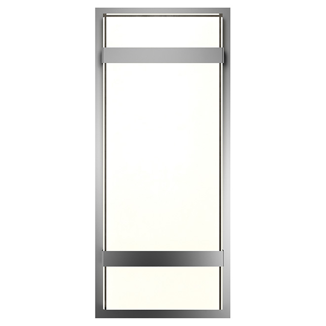 LED Outdoor Wall Sconce - Stainless Steel