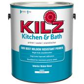Water-Based Primer - Kitchen and Bathroom - 3.78 L - White