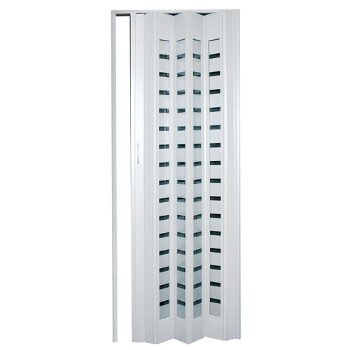 Porte accordeon for Porte exterieur rona