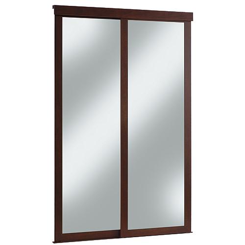 Porte miroir coulissante fusion rona for Rona porte et fenetre