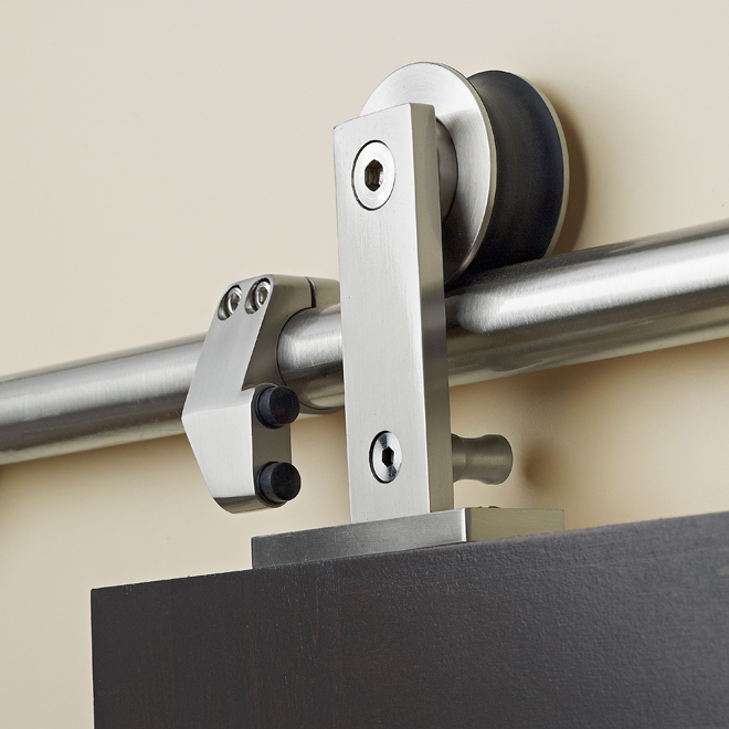 """Loft"" Sliding Door Rail"