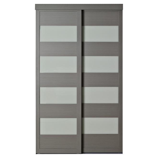 Portes Intérieures Portes Miroir Et Portes Coulissantes RONA - Porte placard coulissante de plus porte intérieure pliante