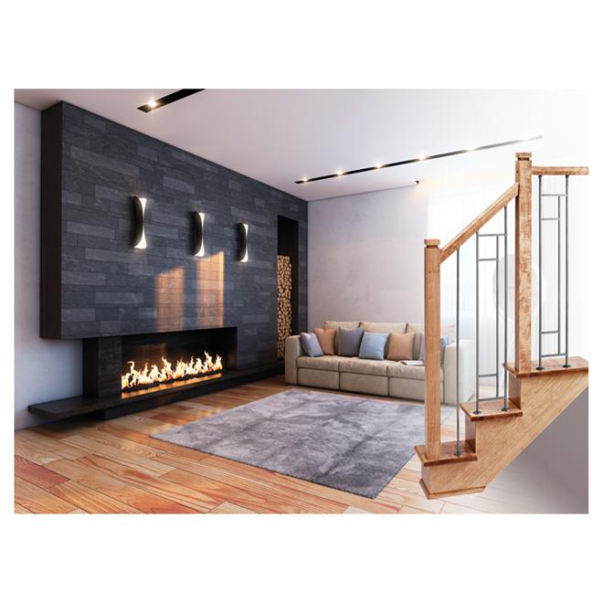 panneau de rampe en fer forg zen escalier rona. Black Bedroom Furniture Sets. Home Design Ideas