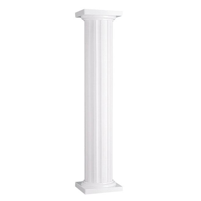 Colonne ronde rona for Colonne decorative exterieur