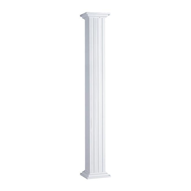 Colonne d 39 ext rieur en aluminium 120 po rona for Colonne decorative exterieur