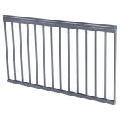Classica Plus Railing Section - Charcoal Grey - 36