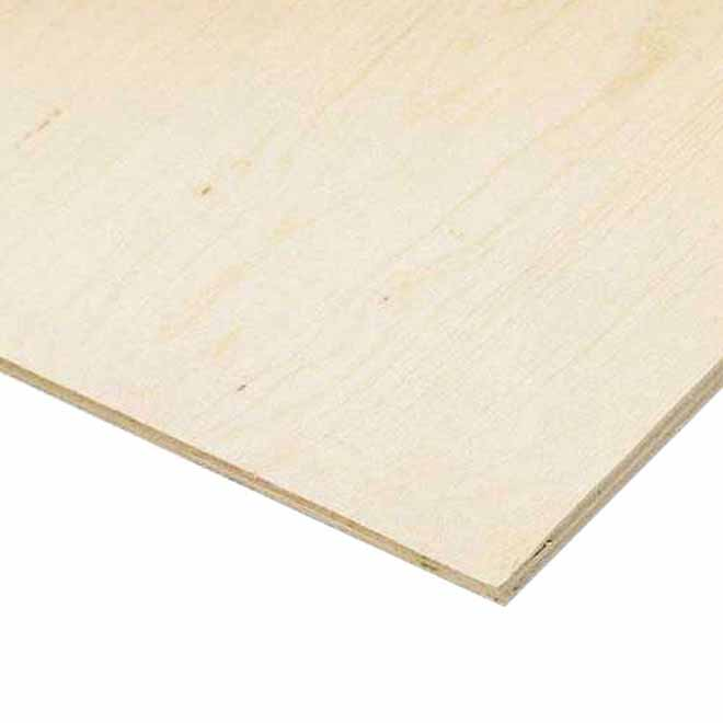 3/4x4x8 - Plywood Fir Select - Tongue and Groove