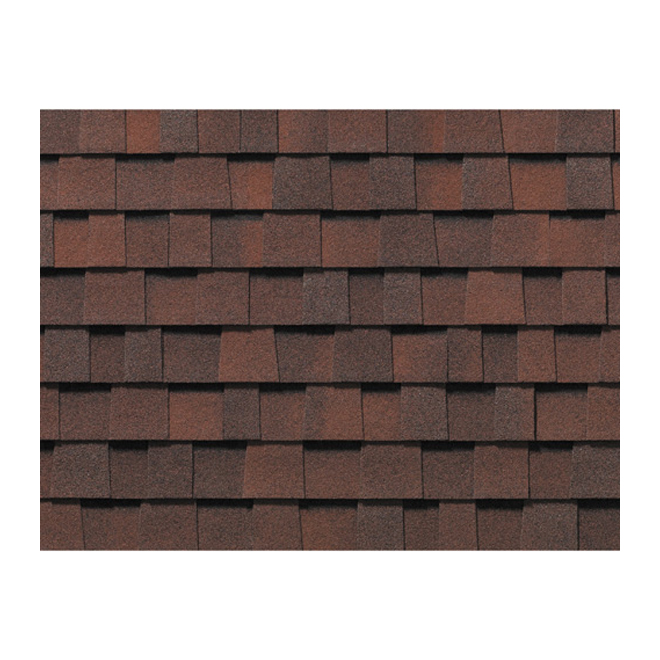 """Everest 42"" Roofing Shingle - Red Magenta"