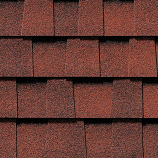 Quot Mystique 42 Quot Roofing Shingle Red Magenta Rona