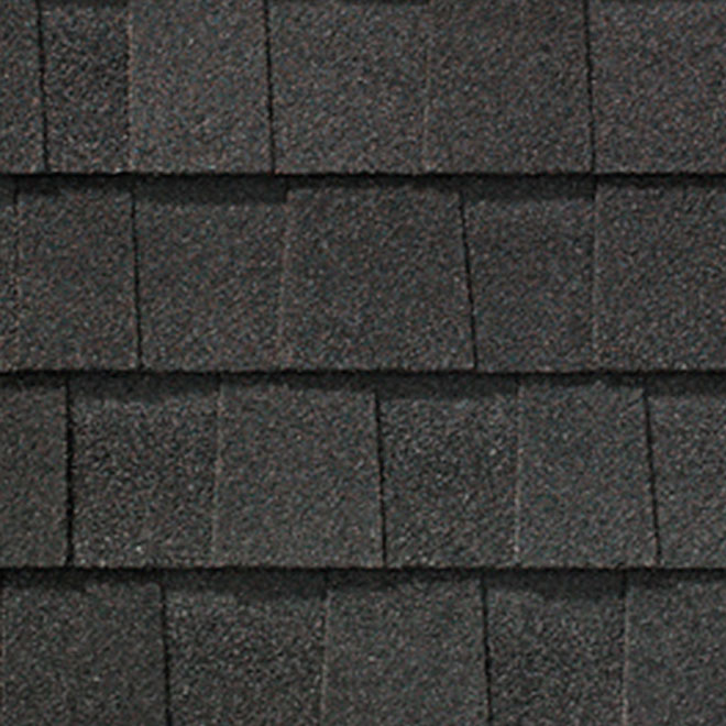 """Mystique 42"" Roofing Shingle - Slate Black"