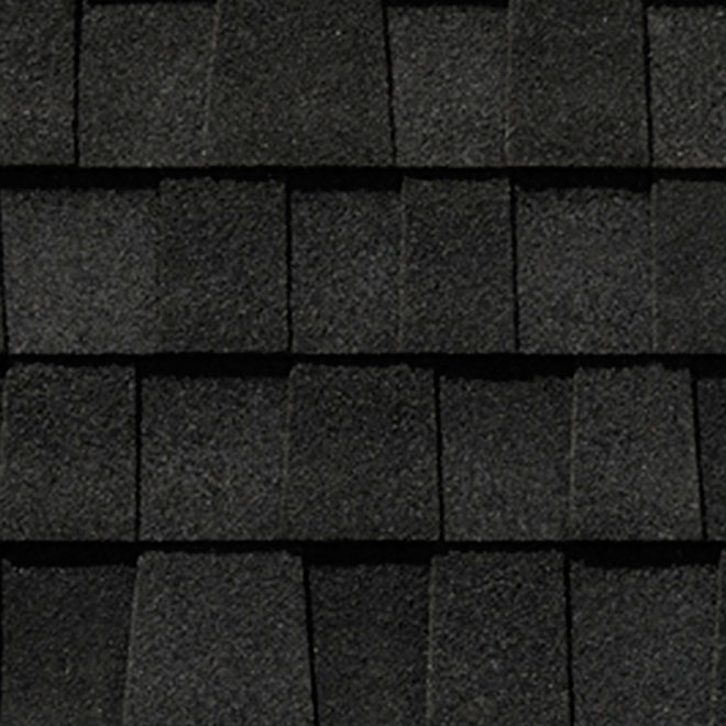 Quot Mystique 42 Quot Roofing Shingle Shadow Black Rona