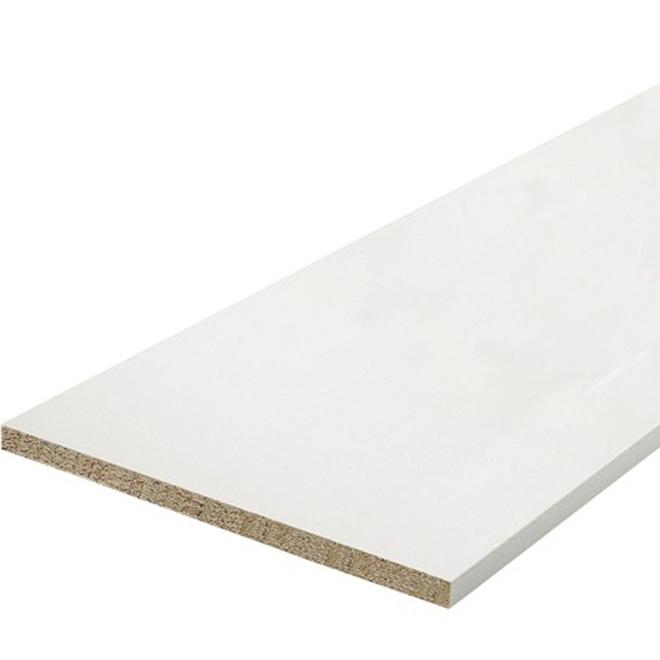 Melamine shelf rona for Panneau melamine brico depot