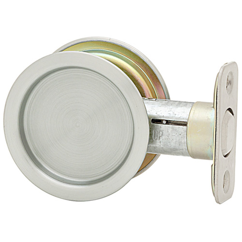 Pocket Door Handle - Satin Nickel