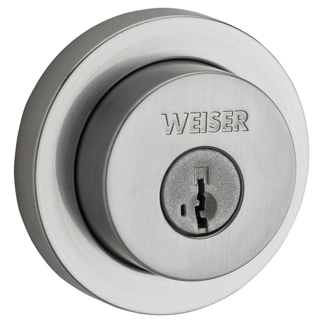 Single Cylinder Deadbolt - Satin Chrome