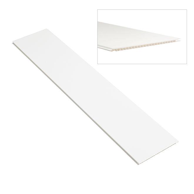 lambris blanc pvc interesting with lambris blanc pvc excellent lambris blanc bross large mm. Black Bedroom Furniture Sets. Home Design Ideas