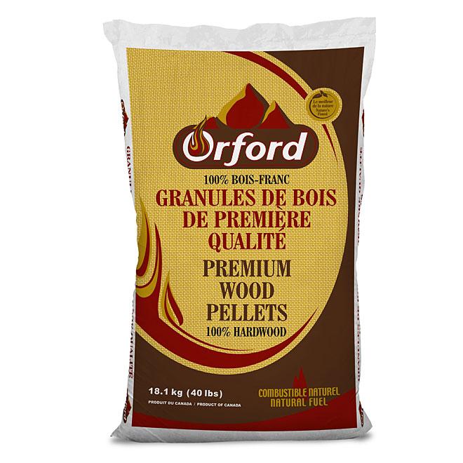 Granules de bois franc, 40 lb RONA # Granulés Bois Total