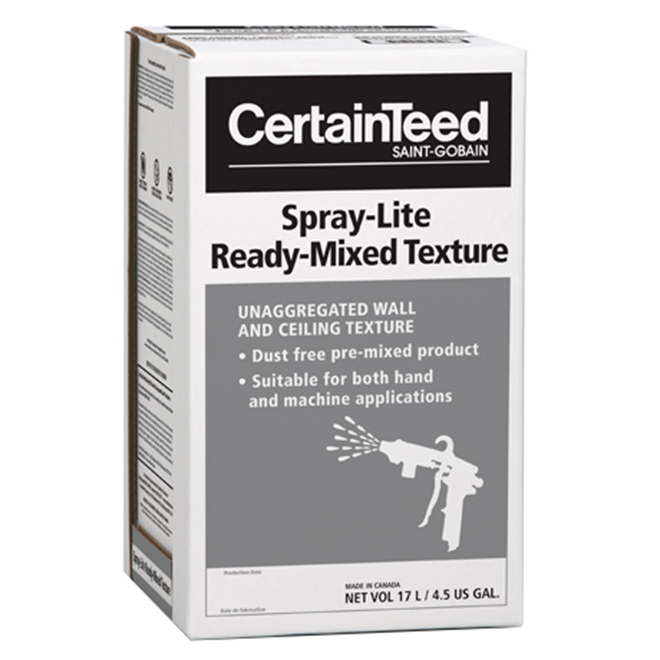 "Premixed Texture ""Spray-Lite"" 17 L - Off-White"