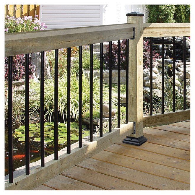 Baluster Pack Of 10 Steel Balusters 36 In Rona