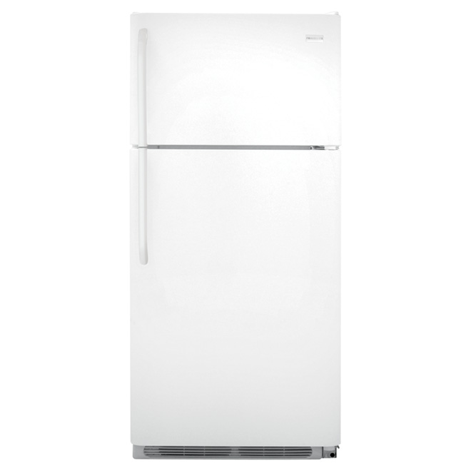 "Top-Freezer Refrigerator - 30"" - 18 cu. ft. - White"