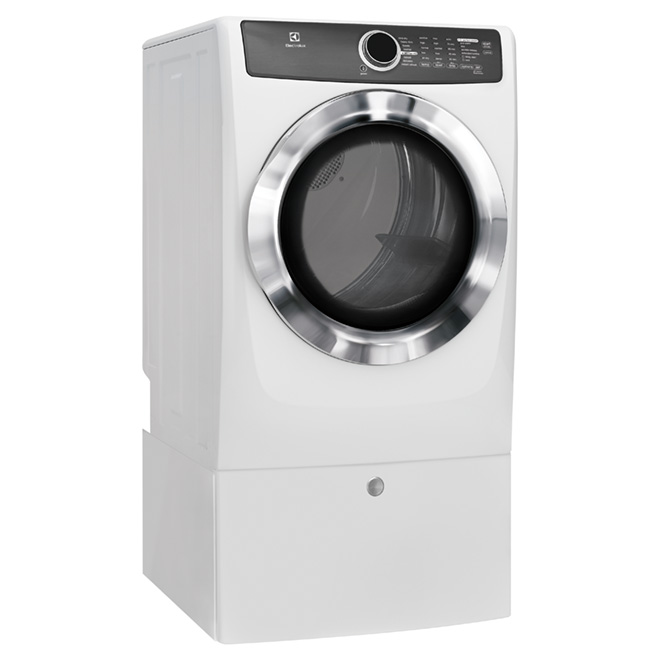 Energy Star Electric Steam Dryer - White