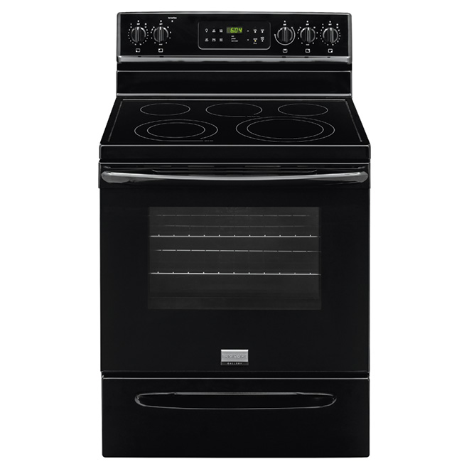 Electric Convection Range - 5.7 cu. ft - Black