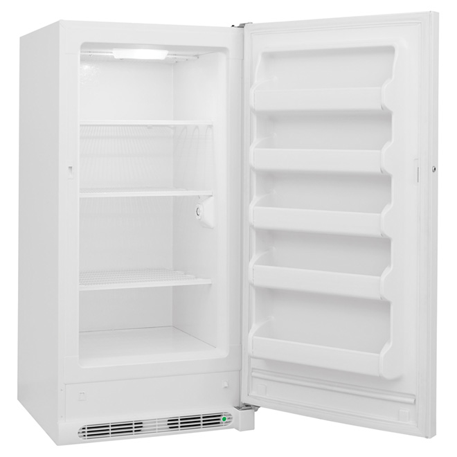 Upright Freezer - Manual Defrost - 14.4 cu.ft. - White