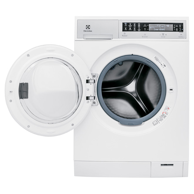 Compact Washer with PerfectSteam(TM) - 2.8 cu. ft - White