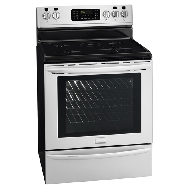 Electric Induction Range - 5.4 cu. ft. - Stainless Steel