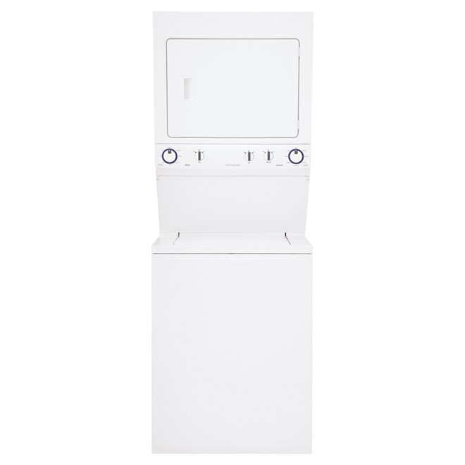 Stacked Washer Dryer Set - 4.4/5.5 cu.ft. - White