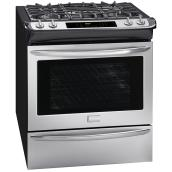 Slide-In Dual-Fuel Convection Range - 4.6 cu. ft. -Stainless Steel