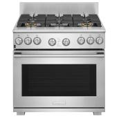 Freestanding Dual-Fuel Convection Range - 6.4 cu. ft. - Stainless Steel