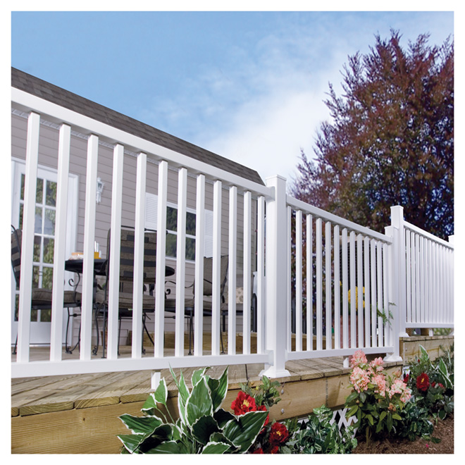 spartan stair railing 36 x 72 rona. Black Bedroom Furniture Sets. Home Design Ideas