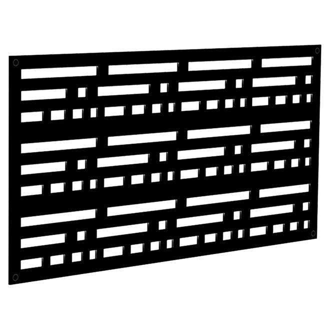 Morse Outdoor Decorative Panel 2 X 4 Black Rona