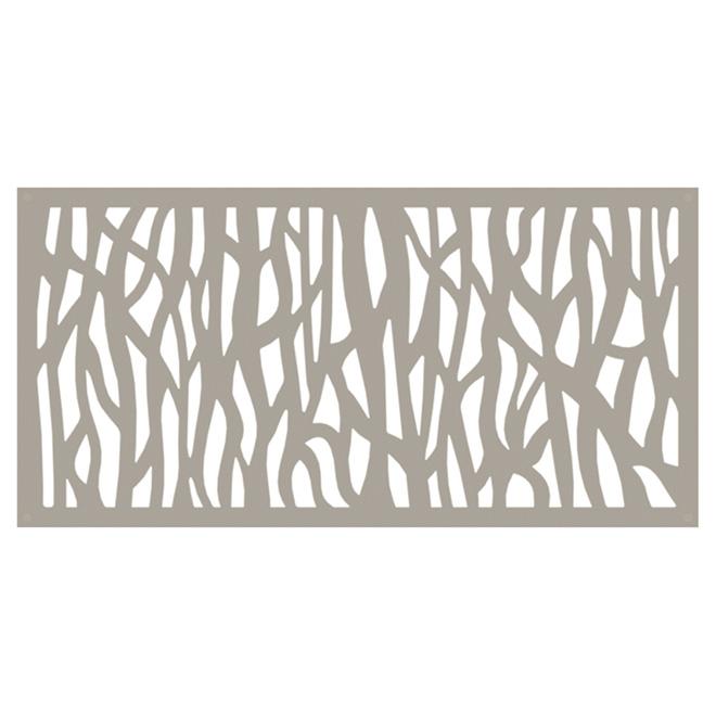 panneau d coratif d 39 ext rieur sprig 2 39 x 4 39 argile rona. Black Bedroom Furniture Sets. Home Design Ideas