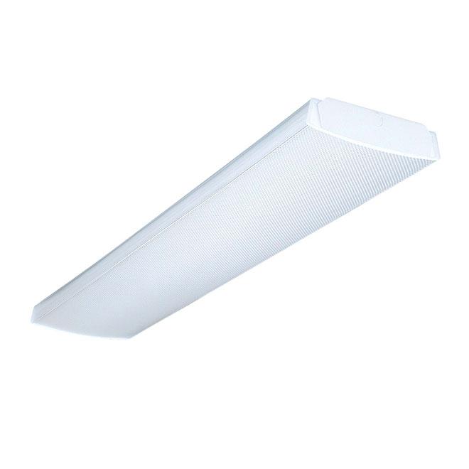 "2-Light Wraparound Fluorescent Light Fixture - 48"""