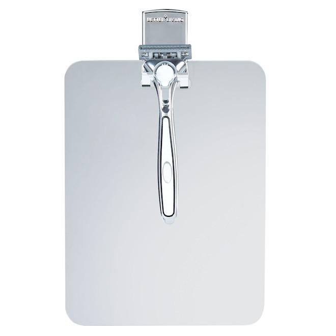 miroir de douche sans cadre incassable et antibu e rona. Black Bedroom Furniture Sets. Home Design Ideas