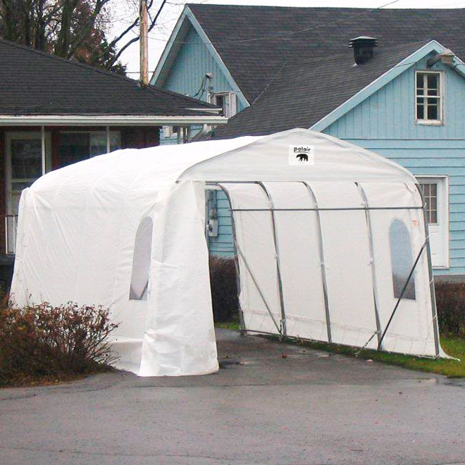 12 ft x 15 ft Car Shelter