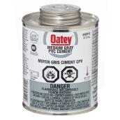 PVC Cement - Medium-Bodied - Grey - 473 mL