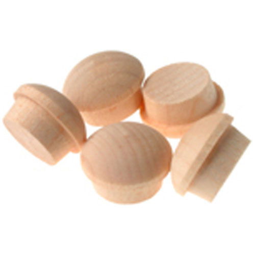 WOOD BUTTON SCREW CAP