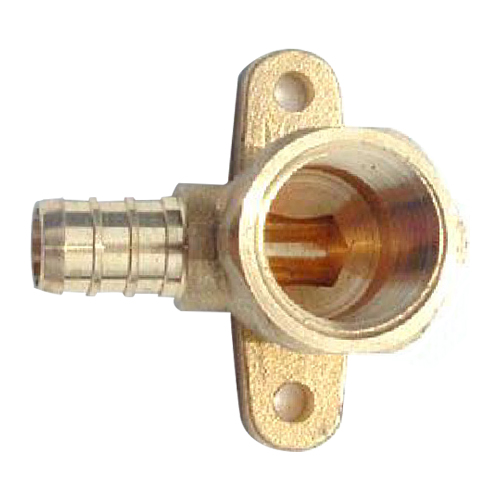 1/2-in Brass drop ear elbow