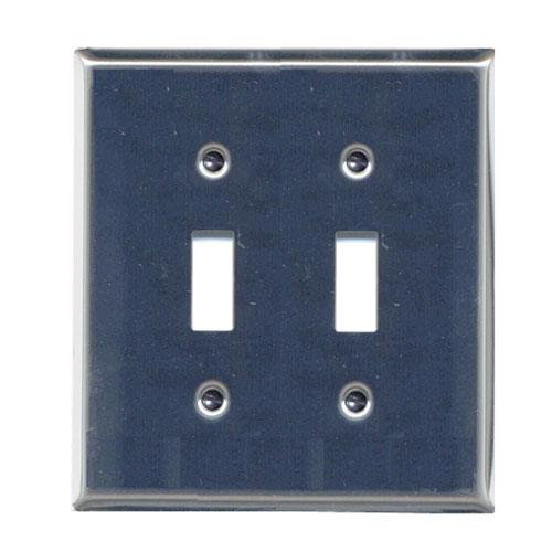 Double Toggle Wall Plate
